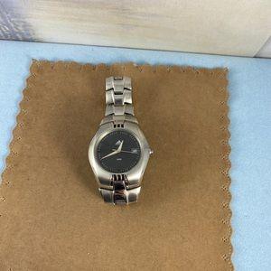 adidas Accessories - Adidas Sports Watch Mans Black & Silver 10AMT